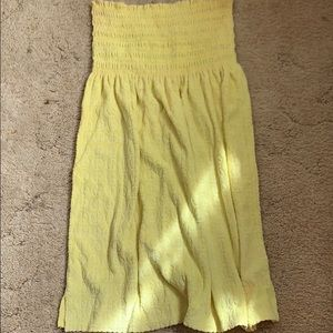 SALE! Yellow bathing suit cover up